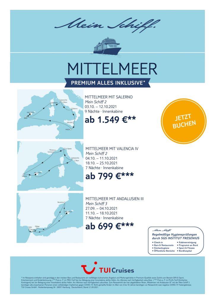 TUICruises Mein Schiff Mittelmeer